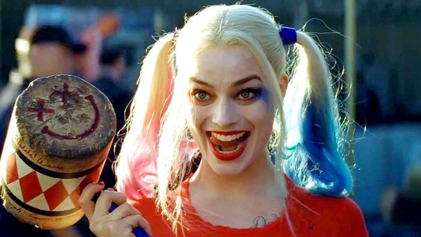 Harley Quinn interpretada por Margot Robbie