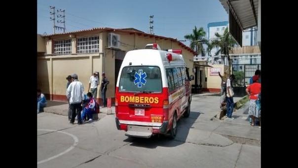 Los médicos del Hospital San Juan Bautista de Huaral solo le limitaron a certificar su deceso.