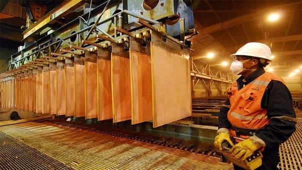 La producción nacional de cobre tuvo un incremento de 51.02%  durante el primer trimestre del año.