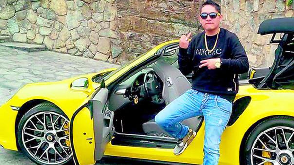 Gerald Oropeza, conocido como el Tony Montana peruano.