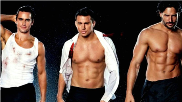 Matt Bomer, Channing Tatum y Joe Manganiello