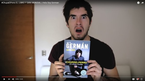 Germán Garmendia sufre descompensación en público — YouTube