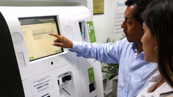 Cajeros registrales multiservicios de la Sunarp