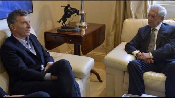 Mario Vargas Llosa en la Argentina