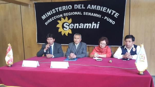 Senamhi en Puno