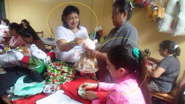 Internas laboran en taller del penal de Chiclayo