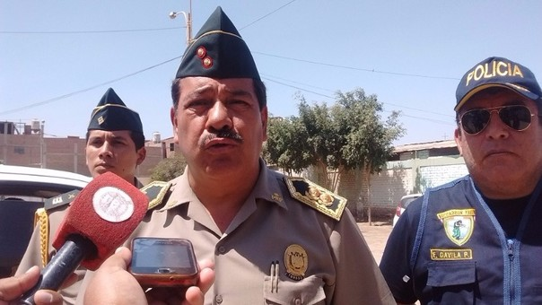 Jefe policial de Lambayeque