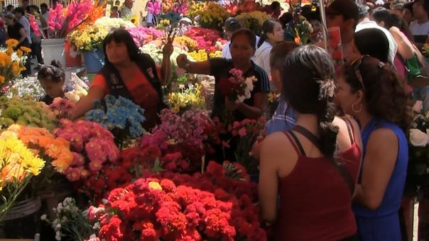 Alta demanda de flores por el Día de la Madre