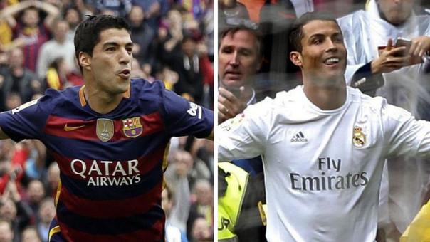 Luis Suárez - Cristiano Ronaldo