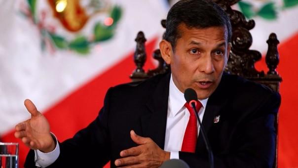El Presidente Ollanta Humala dijo que el Ejecutivo hará lo correcto ante ley que permite retiro de 25% de AFP para vivienda