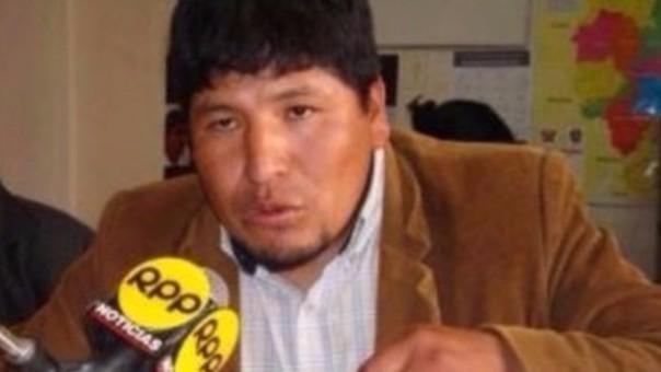 Presidente del frente de defensa de la cuenca Ramis está molesto con mineros.