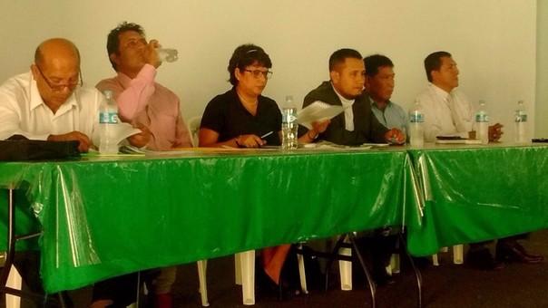 Pugnas entre regidores de APP en municipio de Lambayeque.