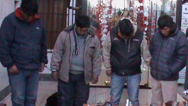 Facinerosos empleaban una mototaxi azul para asaltar a sus víctimas