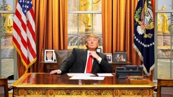 donald trump es presidente