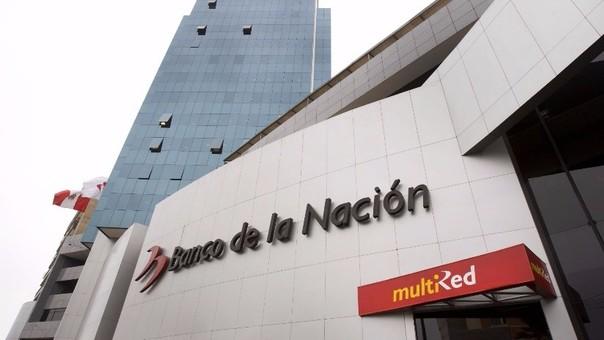 Agencia del Banco de la Nación.
