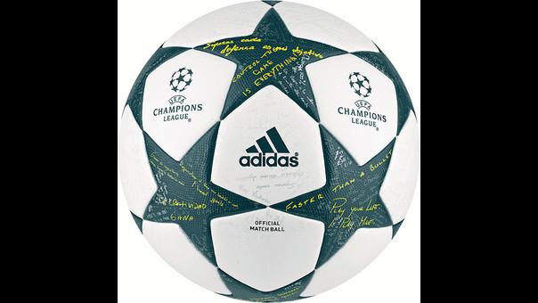 El nuevo balón de la Liga de Campeones 2016/17 está fabricado por Adidas.