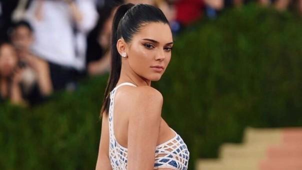La modelo internacional Kendall Jenner fue una de las celebridades invitadas al Festival de cine de Cannes.
