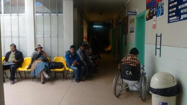 Hospitales de Puno en alerta amarilla.