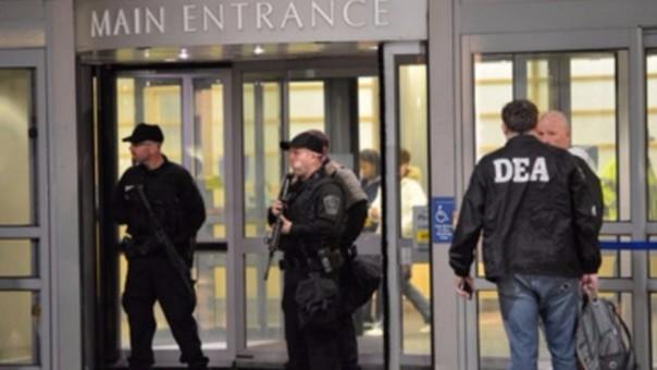 Sede de la DEA en Estados Unidos.