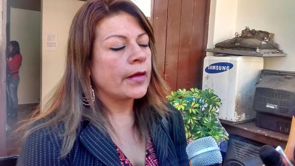 Maribel Arribasplata, sindicada por la policía, como el brazo legal de
