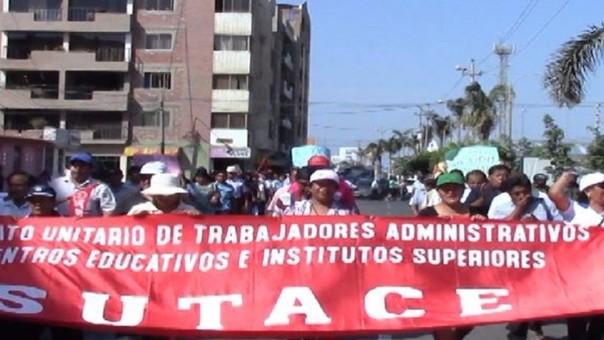 Trabajadores de Centros Educativos no salieron a marchar como se esperaba.