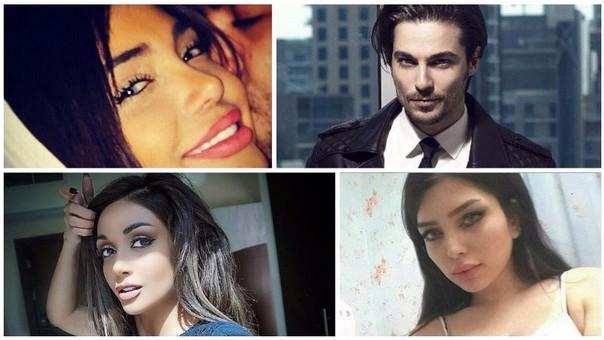 Modelos iraníes arrestados