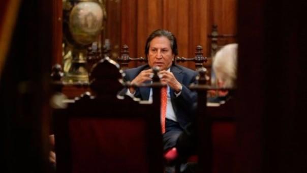 Alejandro Toledo en la comisión Lava Jato