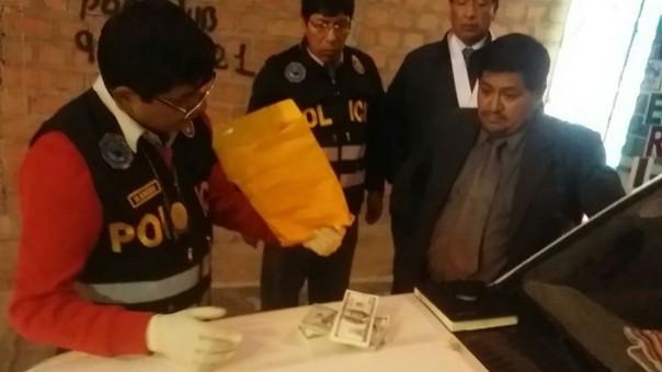 El operativo estuvo a cargo de la Fiscalía Suprema de Control Interno llevado a cabo en Puno.