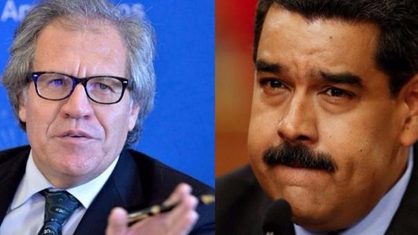Luis Almagro Nicolas Maduro
