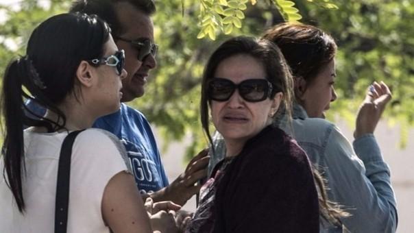 Familiares de las víctimas del EgypAir