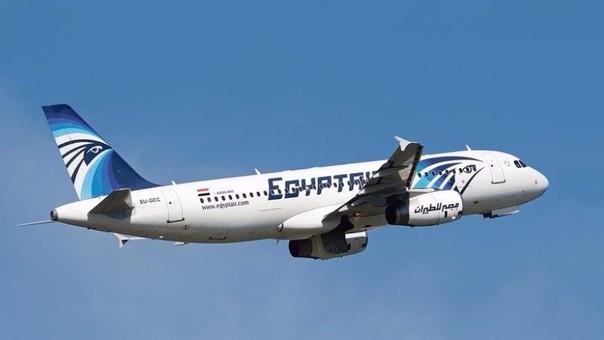 Avión Airbus A320 de EgyptAir