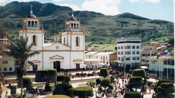 Plaza de Armas de Cutervo