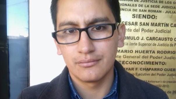 David Gustavo Pacheco - Villar, vicedecano del Colegio de Abogados.