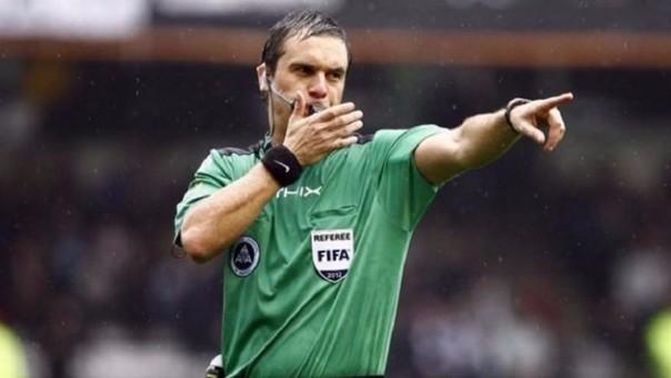 Patricio Loustau fue convocado para impartir justicia en la Copa América.