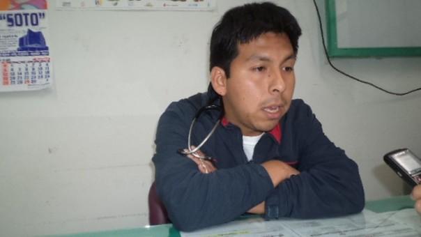 Director del Centro de Salud de Huariaca Arturo Mass Bautista
