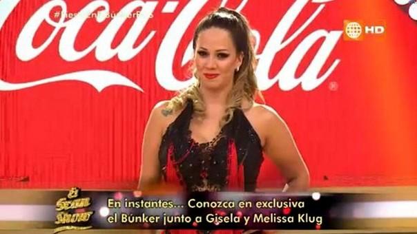Melissa Klug en El Gran Show