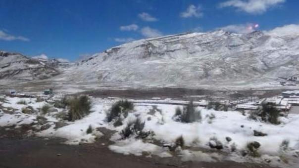 Heladas y friaje en Ayacucho.