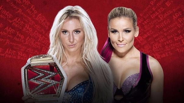 La hija de Ric Flair buscará retener nuevamente el título mundial femenino. Sin embargo, al frente tendrá una gran luchadora como Natalya.