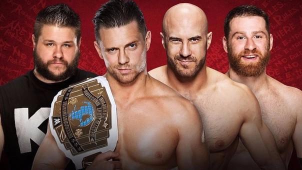 The Miz obtuvo el título Intercontinental un día después de WrestleMania 32.