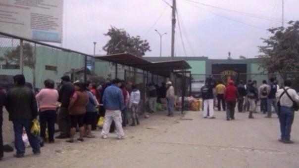 Trujillo: mujer intenta ingresar a penal con droga camuflada en sandalia