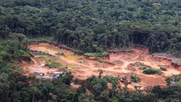 Contaminación por minería artesanal.