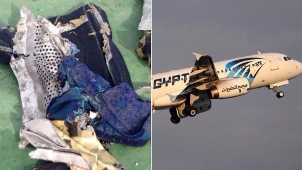 El avión de EgyptAir caído dejó restos hallados en Alejandría, Egipto