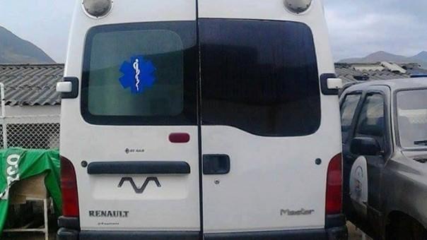 Ambulancia Otuzco