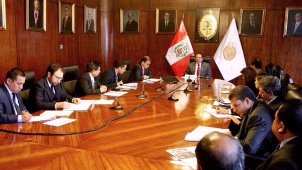 Fiscal de la Nación, Pedro Sánchez, instaló la comisión que se encargará de proponer el diseño, organización y estructura de la Oficina de Análisis Estratégico de la Criminalidad.