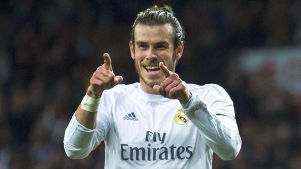 Gareth Bale les pegó a los jugadores del Atlético de Madrid.