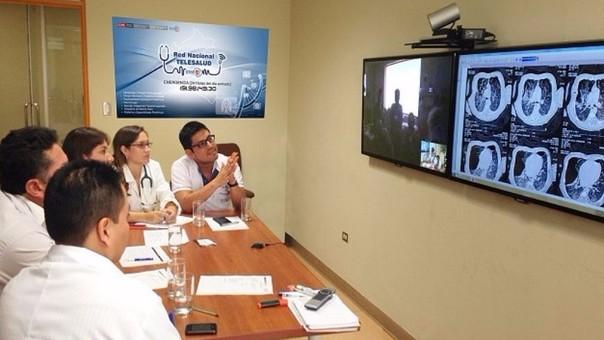 Médicos del Minsa atendieron niños de zonas alejadas a través de Telesalud.