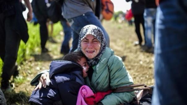 El drama que viven los migrantes de Medio Oriente que buscan llegar a Europa.