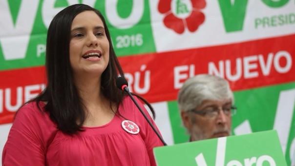 Verónika Mendoza anunció su apoyo a PPK a través de un video en Facebook.