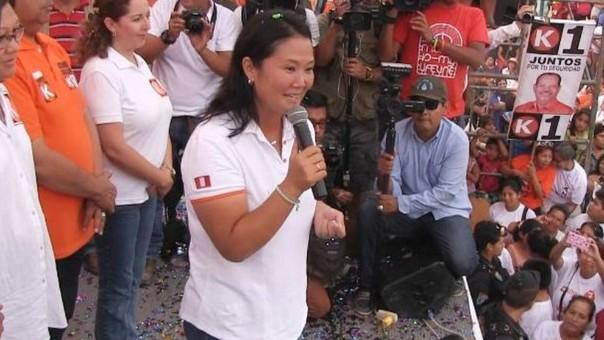 Keiko en Trujillo
