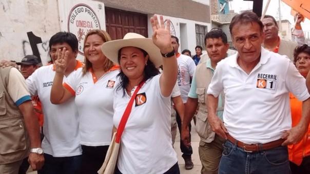 Candidata presidencial encabezará mitin en Chiclayo